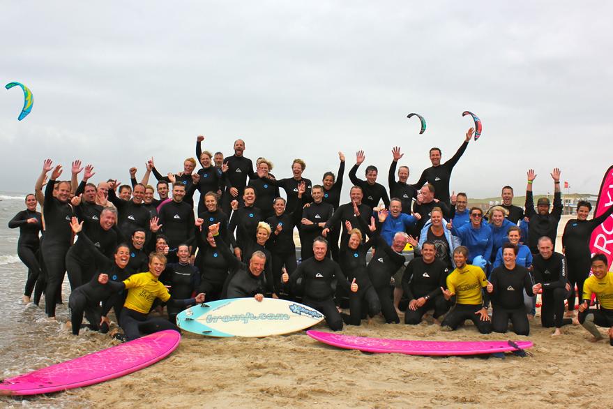 bedrijfsuitje golfsurfen castricum