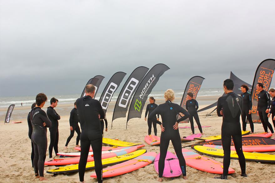 bedrijfsuitje golfsurfen noord-holland