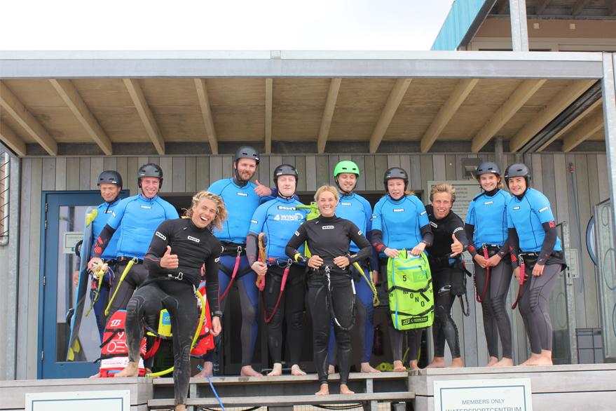 bedrijfsuitje kitesurfen castricum