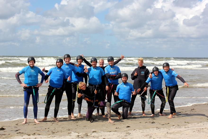 bedrijfsuitje kitesurfen noord-holland